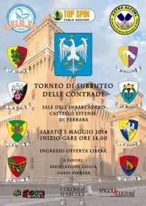 Locandina Castello Torneo Contrade OK