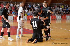 Finale Scudetto Under 21: domani sera a Reggio Emilia il Kaos Futsal cerca la rimonta
